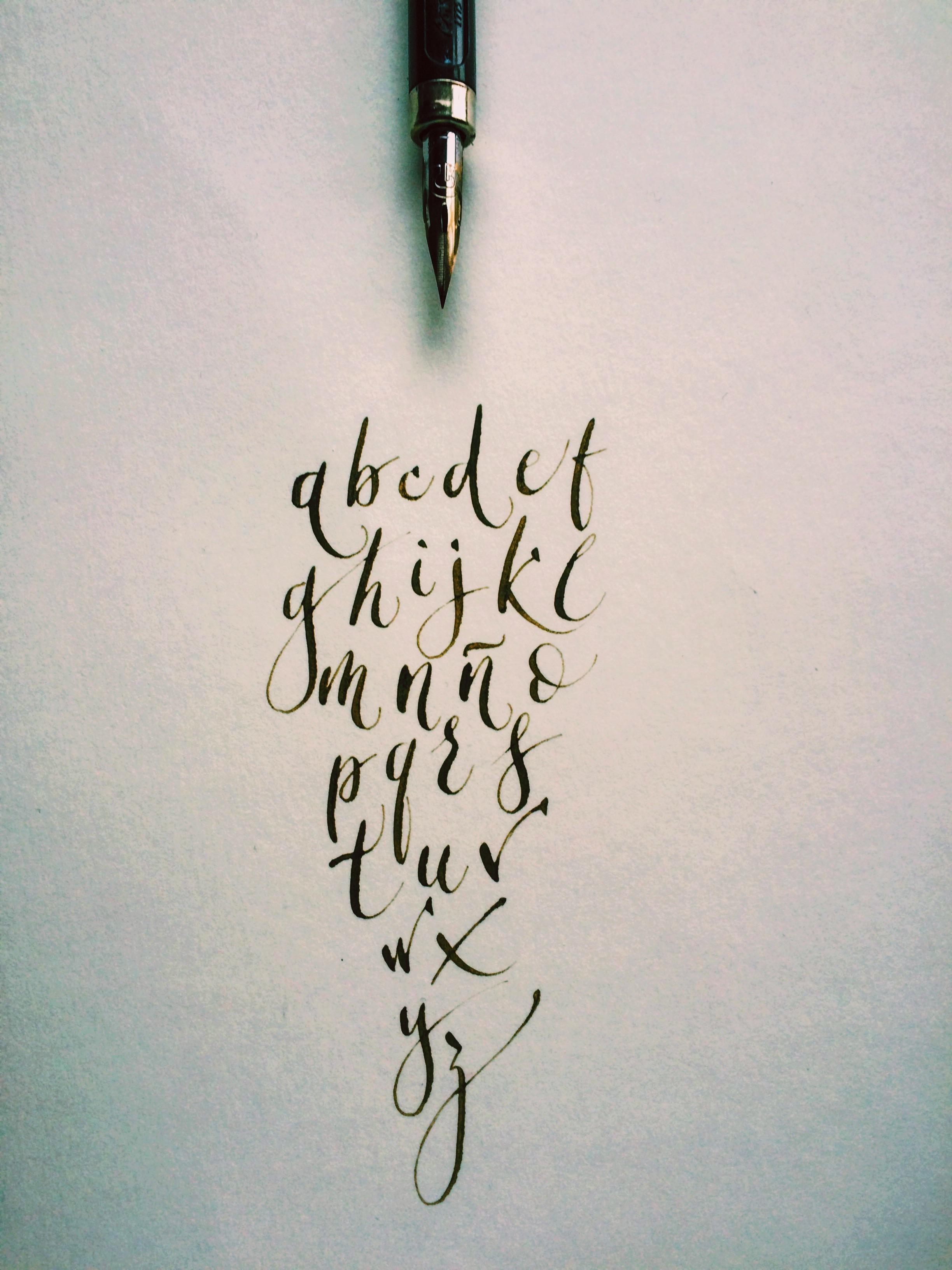 calligraphy @galigrafia @nacu.es